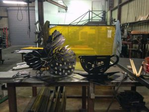 Carollo Metal Works Makes Beautiful Custom Metal Artwork and Metal Furniture