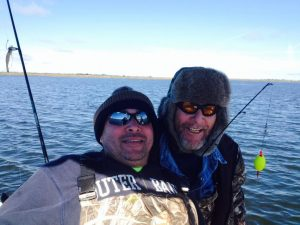 Carollo Metal Works Owner, Nick Carollo, Out Fishing With His Dad